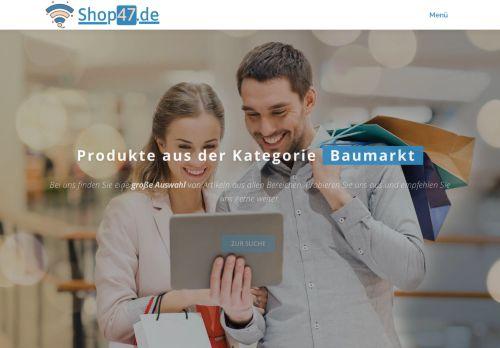 ᐅ Shop47.de | Jetzt die beliebtesten Produkte kaufen!